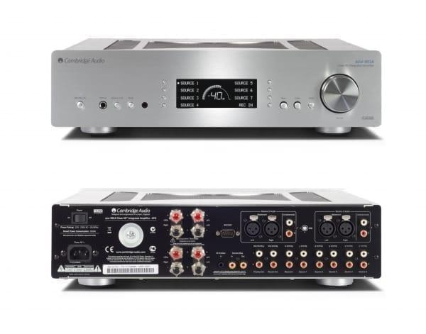 Cambridge 20 audio 851A zilver