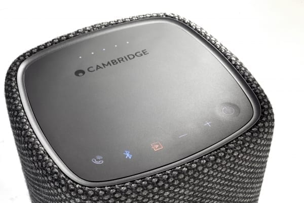 Cambridge Audio YOYO zwart detail